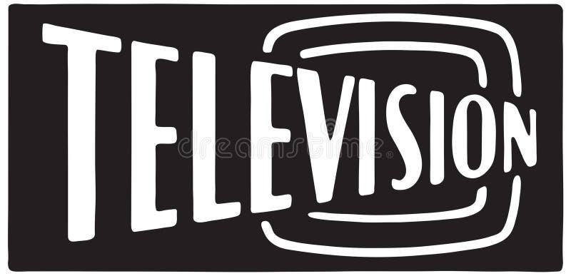 Televisie 2 royalty-vrije illustratie