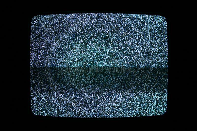 Televisielawaai royalty-vrije stock fotografie
