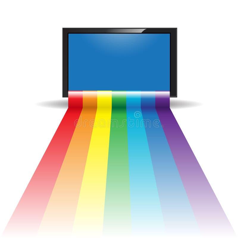 Television vector illustration
