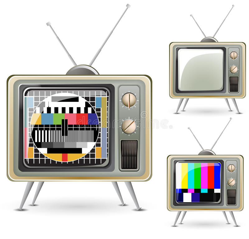 Download Television stock vector. Illustration of electrical, movie - 17462979