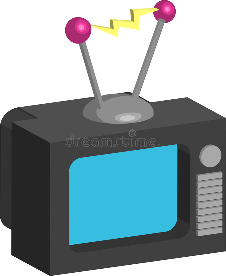 Television Royalty Free Stock Photos