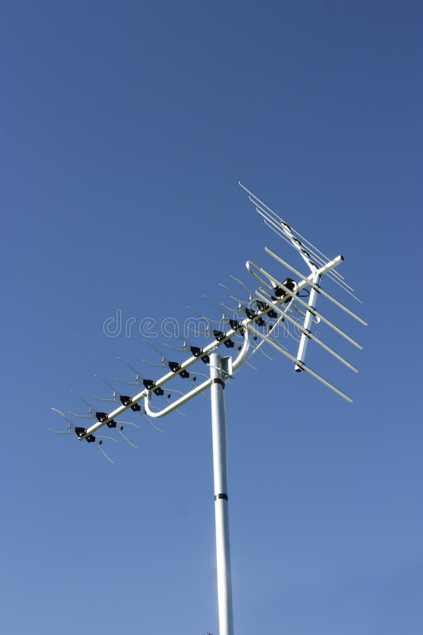 Download Television aerial stock image. Image of view, mettal - 22830539