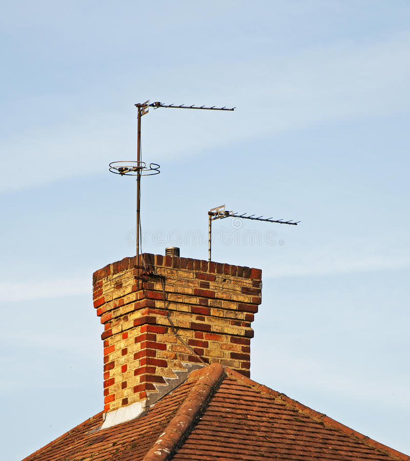 Download Television Aerials stock photo. Image of broadcast, antennae - 22051582