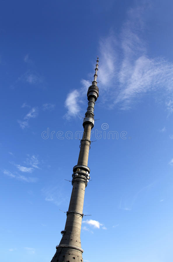 Download Television And Broadcasting Tower Stock Photo - Image: 10543852