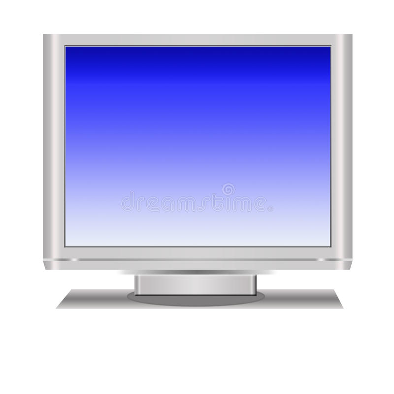 Download Television Display stock illustration. Image of gray - 11328720