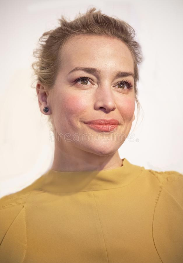 Piper Perabo at World Premiere of `Yesterday` at 2019 Tribeca Film Festival. Television and film actress Piper Perabo arrives at the World Premiere of `Yesterday stock images