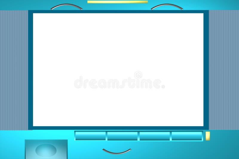 Download Television photo frame stock illustration. Illustration of center - 4161752