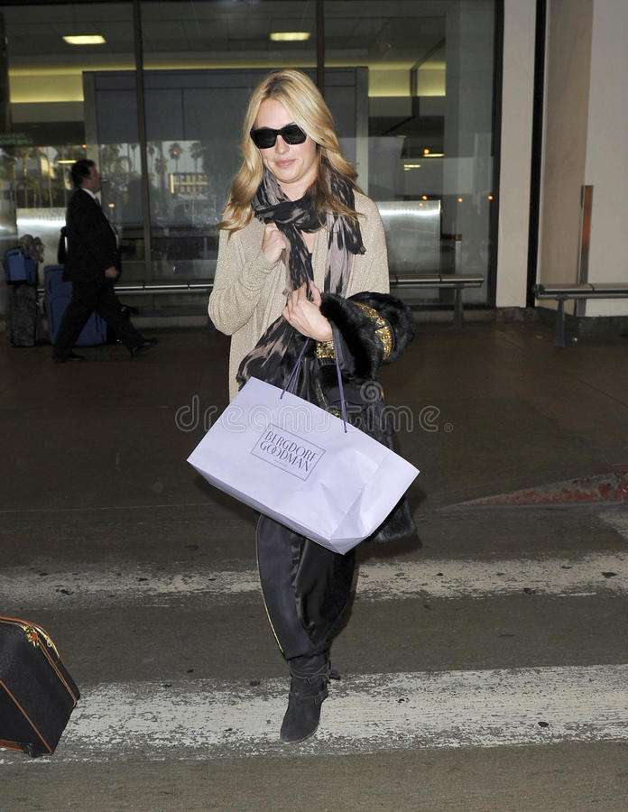 Download Television Presenter Cat Deeley At LAX Airport Editorial Photo - Image: 20731186