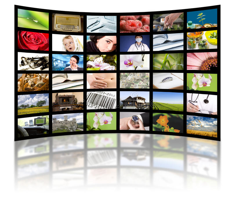 Download Television Production Concept. TV Movie Panels Stock Photo - Image: 17503058