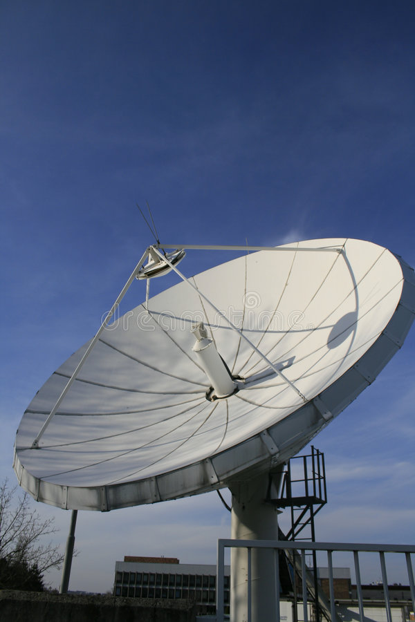 Television satelite stock photo