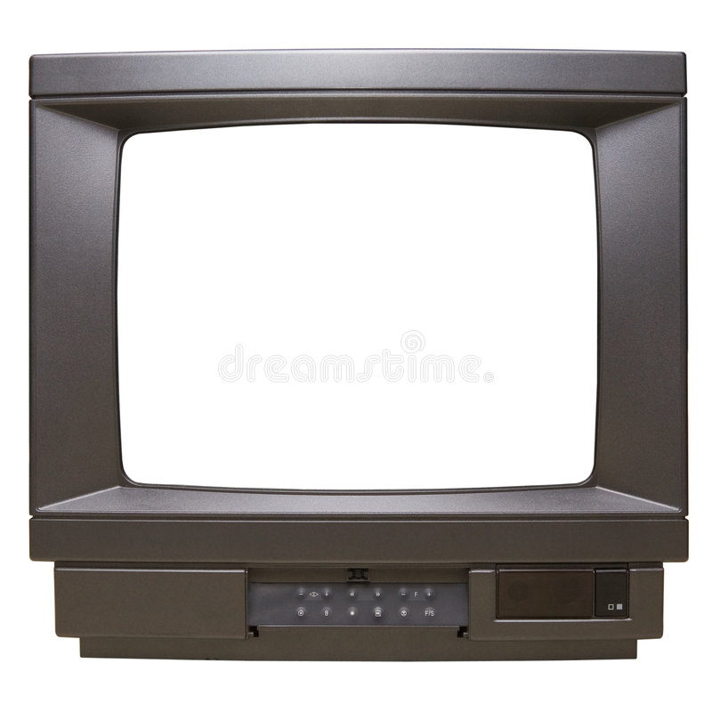 Television Screen stock image