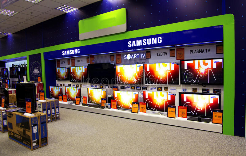 Download Television store editorial photo. Image of consume, discount - 25053851
