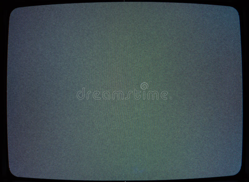 Television Texture. It could looks underexposed, but if you look at the pixel size, you'll see that the exposure is perfect to get as much as possible of the 3 royalty free stock photo