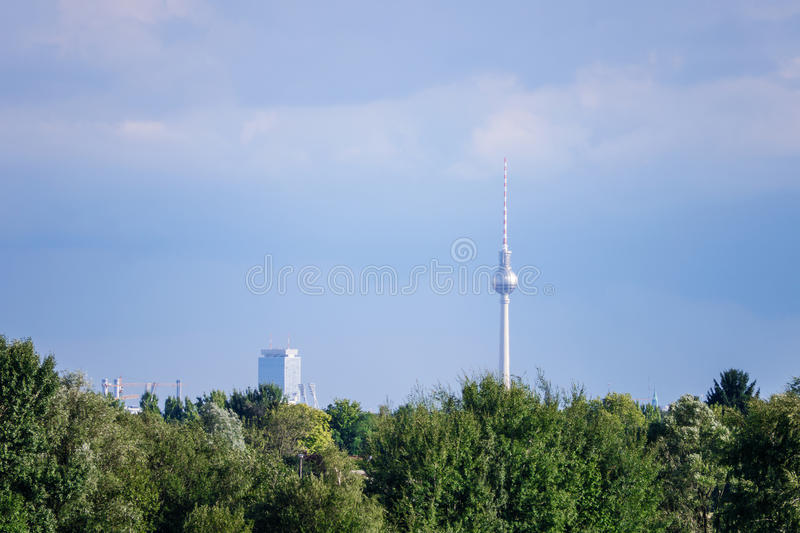 Download Television tower berlin stock photo. Image of evening - 33562292