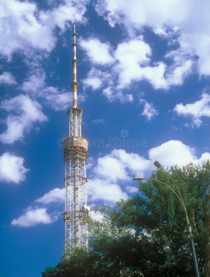 Television Tower In Kyiv, Ukraine. Royalty Free Stock Photos