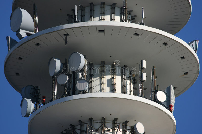 Download Television Tower VI stock image. Image of antenna, technology - 3466681