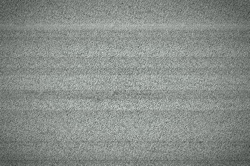 Television White Noise. Television monitor grainy white noise signal background texture royalty free stock photo