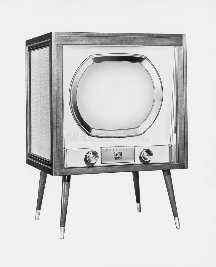 TELEVISIONE (tutte le persone rappresentate non sono vivente più lungo e nessuna proprietà esiste Garanzie del fornitore che non  fotografia stock