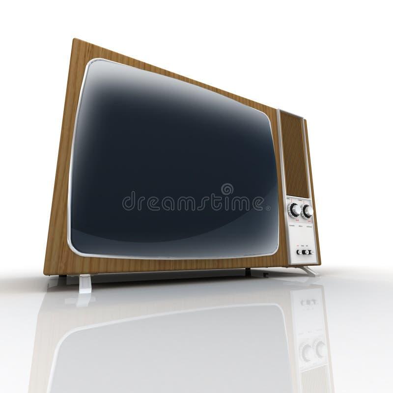 televisiontappning stock illustrationer