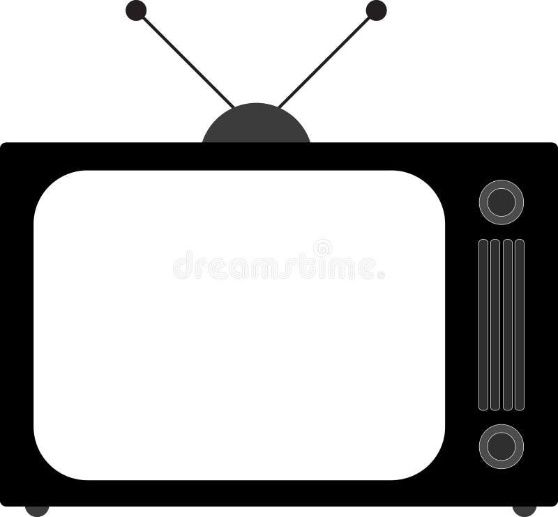 telewizja royalty ilustracja