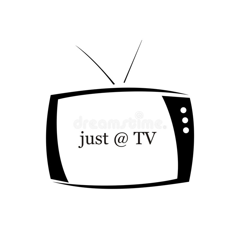 telewizja zdjęcie stock