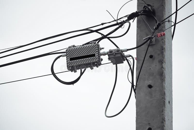 Telewizja kablowa jest wciąż popularna dzisiaj fotografia stock