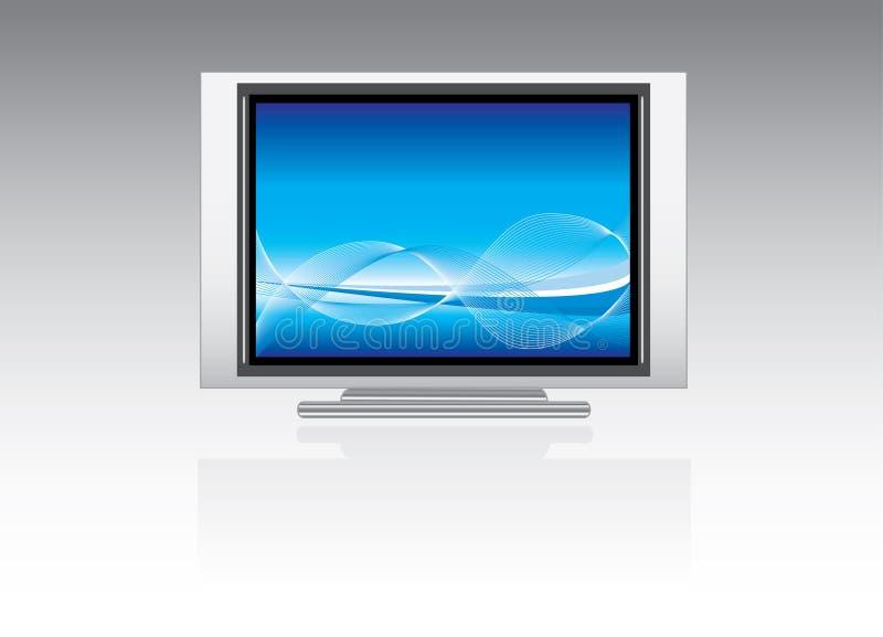 telewizja osocza ilustracja wektor