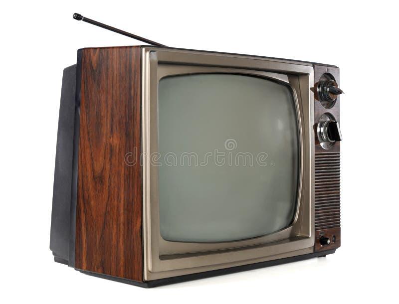 telewizyjny rocznik obrazy royalty free