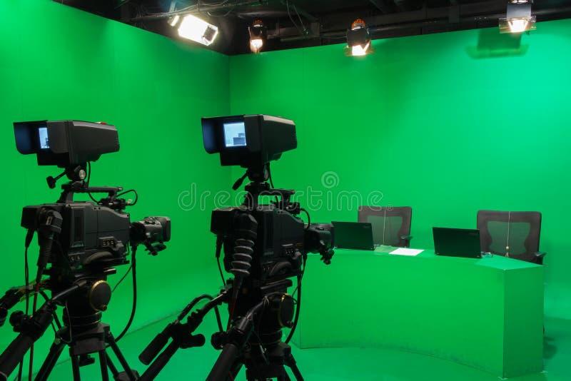 Telewizyjny studio obraz stock