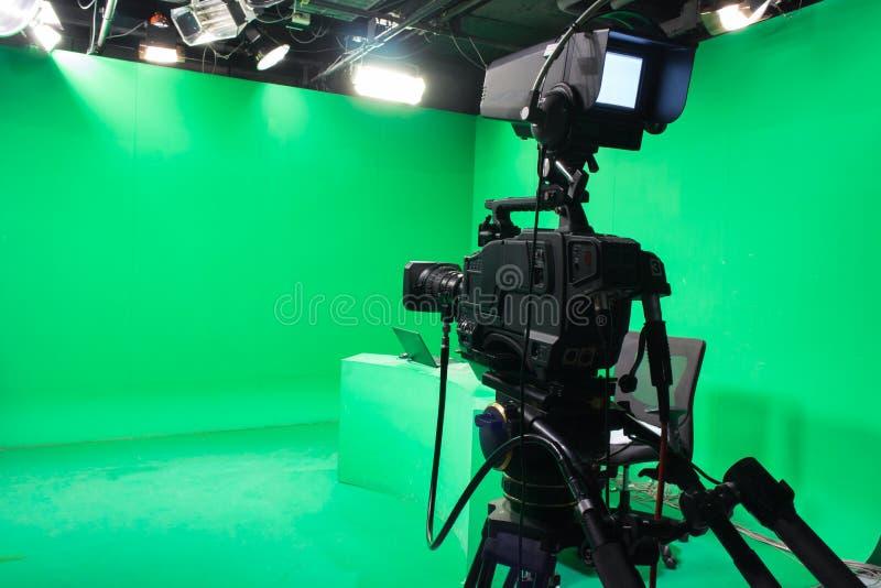 Telewizyjny studio fotografia stock