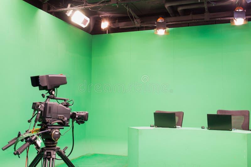Telewizyjny studio obrazy royalty free