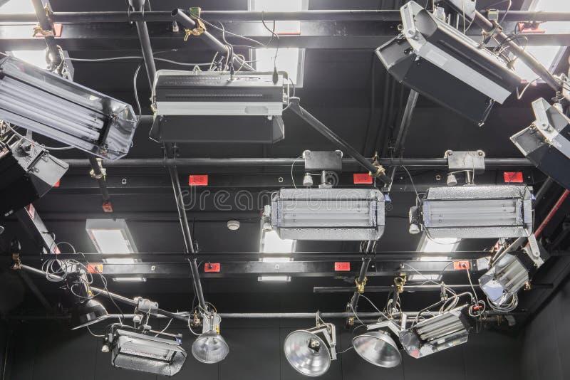 Telewizyjny studio zdjęcia stock