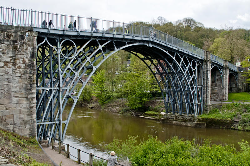 Download Telford Iron Bridge Stock Photo - Image: 24758850