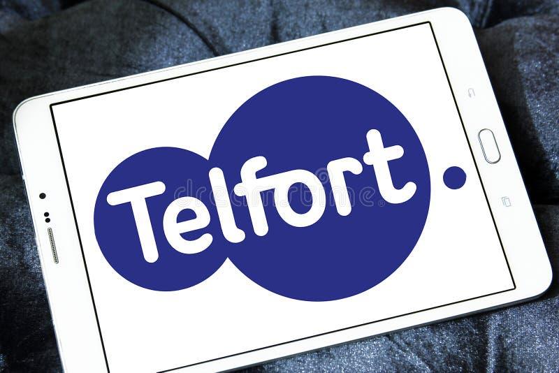 Telfort firmy telekomunikacyjnej logo fotografia stock