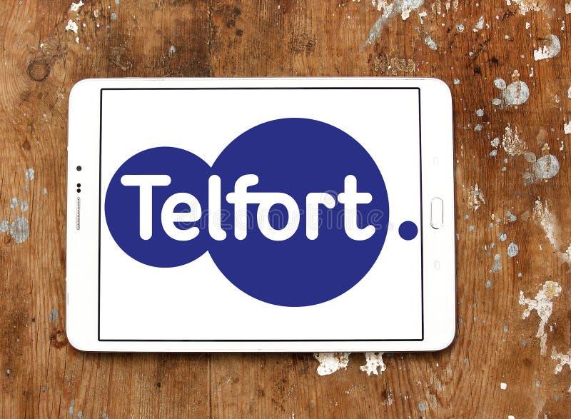 Telfort firmy telekomunikacyjnej logo obrazy royalty free