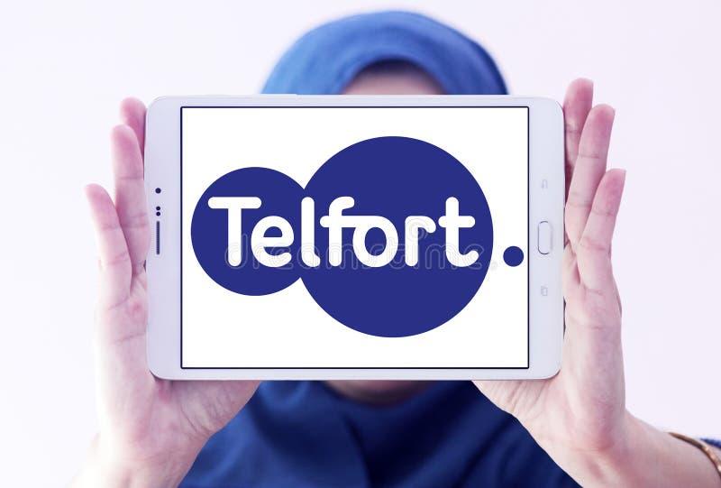 Telfort firmy telekomunikacyjnej logo obraz stock