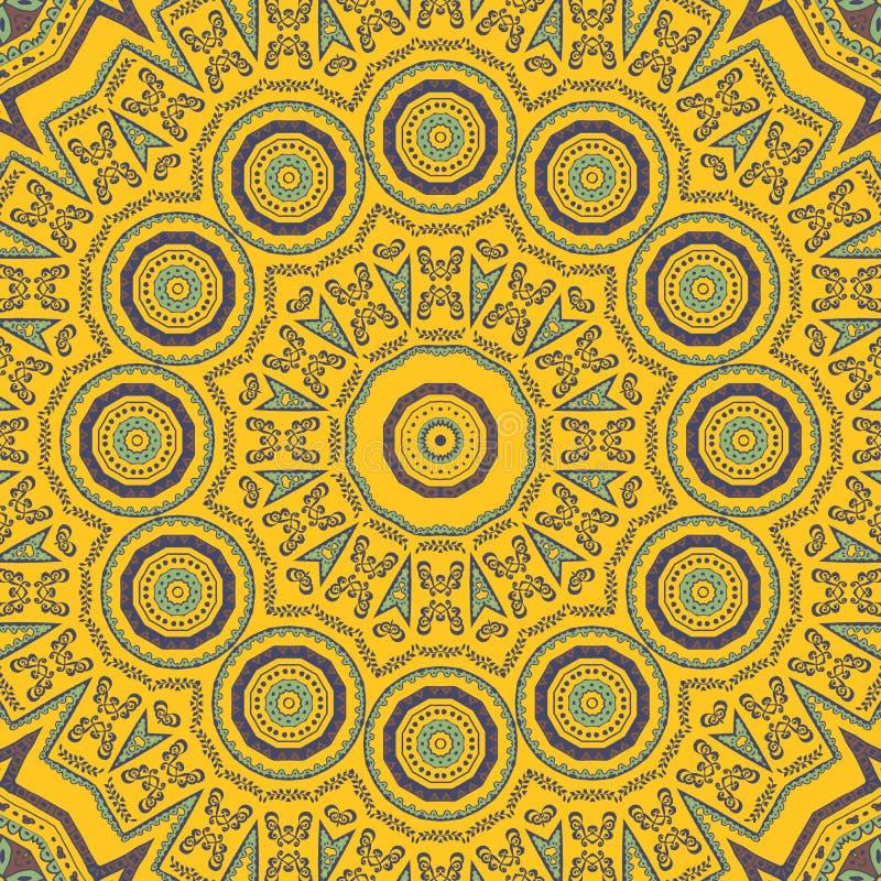 Telha calidoscópico ilustração stock