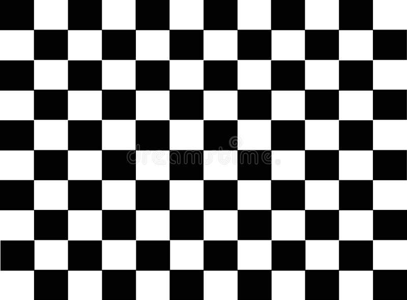 Telha checkered abstrata ilustração stock