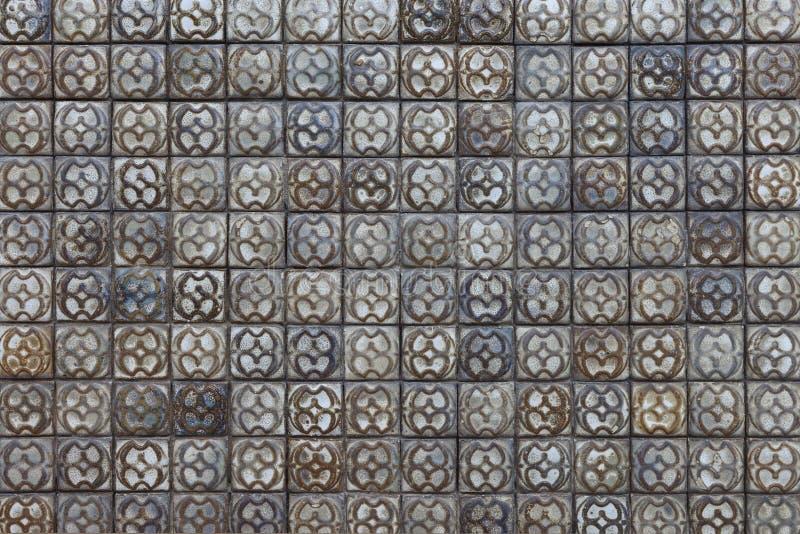 Telha concreta de pedra foto de stock
