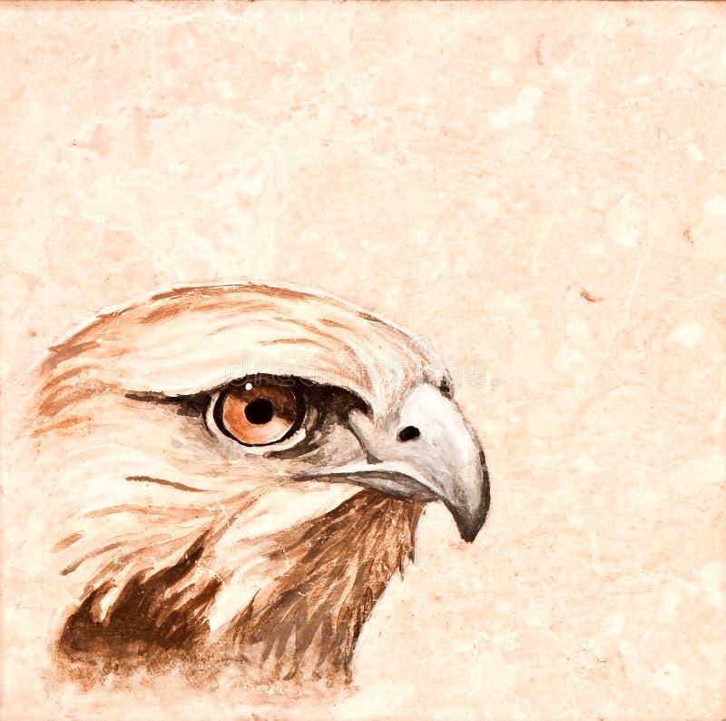 Telha do pássaro. imagem de stock royalty free