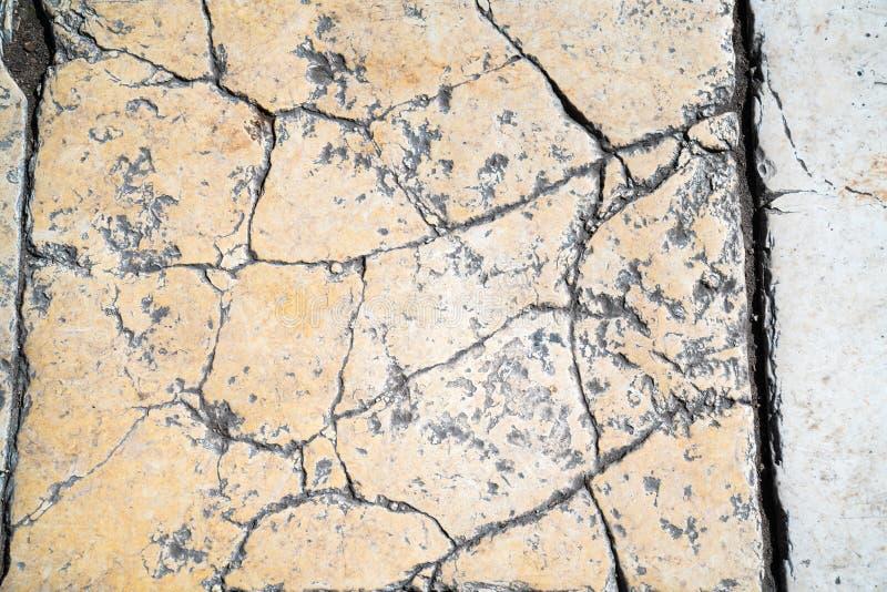 Telha do passeio, a textura do passeio no Temple Mount no Jerusalém fotografia de stock royalty free
