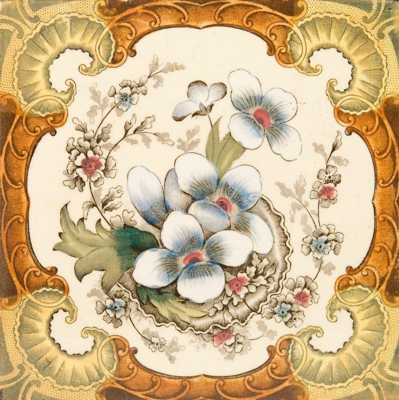 Telha do Victorian imagem de stock royalty free