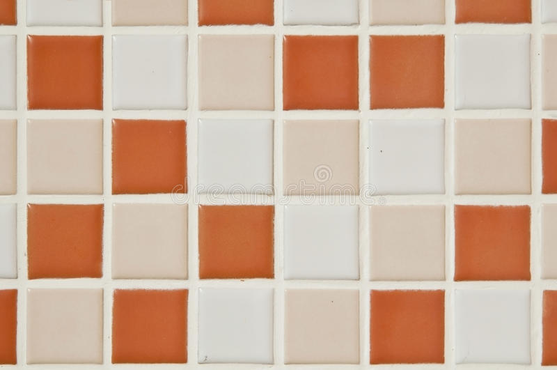 Telha quadrada pequena do banho imagem de stock royalty free
