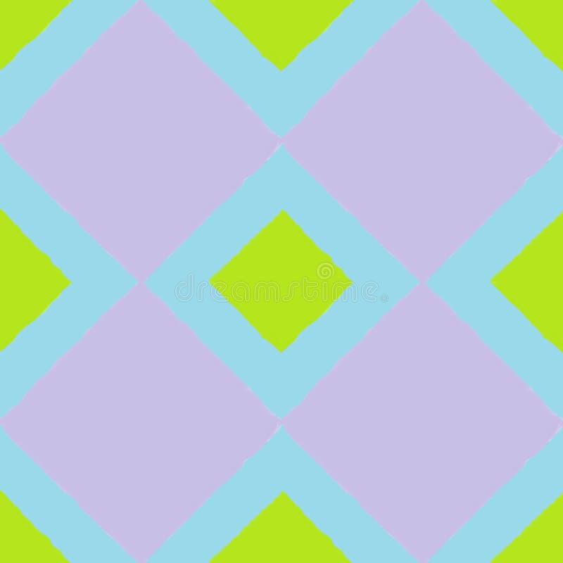 Telha quatro com um quadrado roxo foto de stock royalty free
