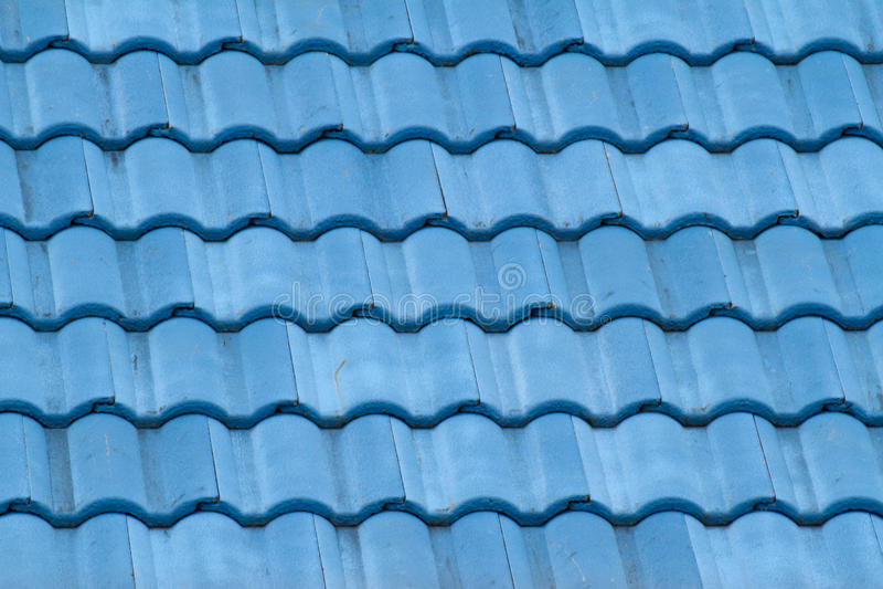 Download Telhado azul foto de stock. Imagem de fileira, tampa - 26518722
