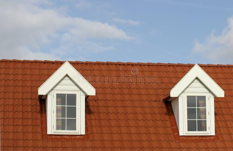 Telhado da casa foto de stock