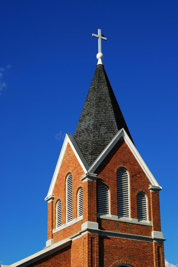 telhado da igreja imagem de stock royalty free