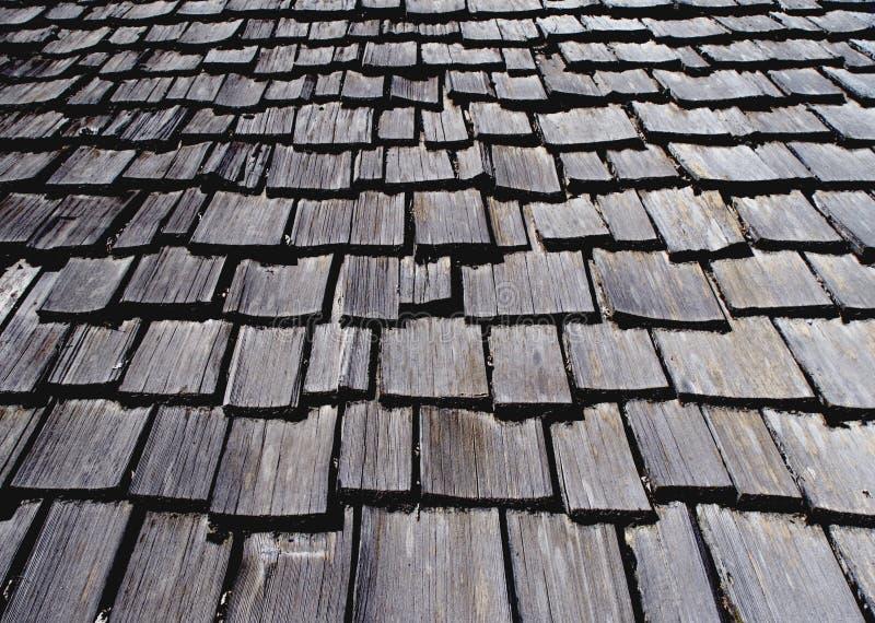 Telhado de madeira fotos de stock