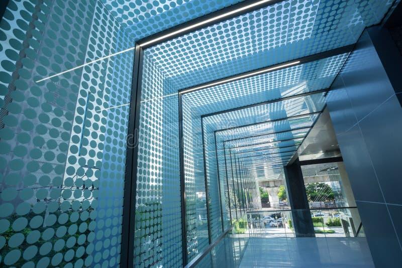 Telhado de vidro foto de stock