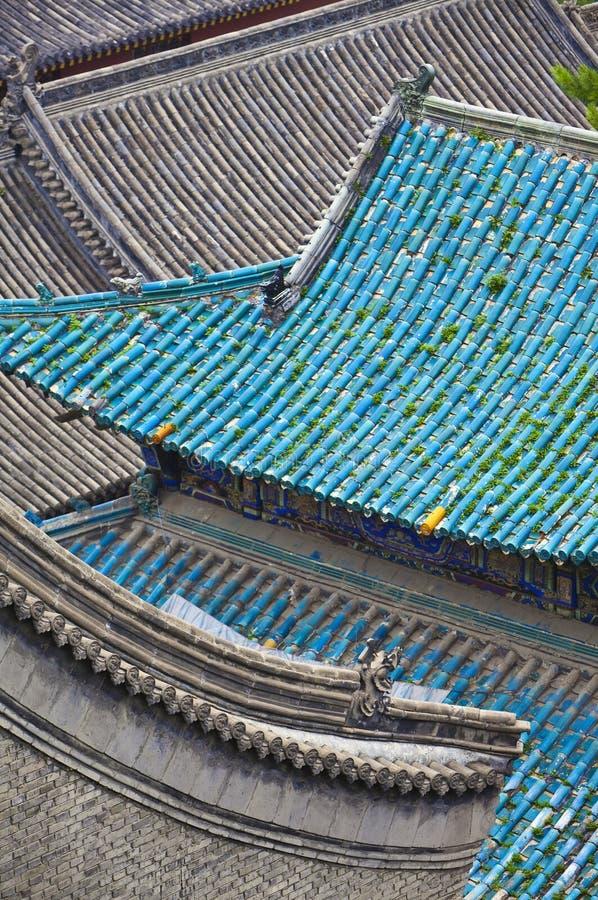 Telhado do templo imagens de stock